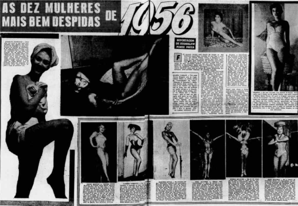 1956 As 10 mais bem despidas