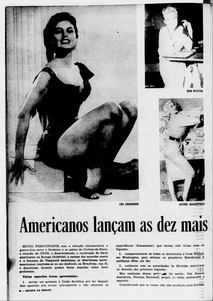 Revista da Semana 18/01/1958