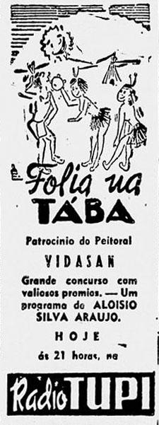 1945 Folia na taba Aloysio dn