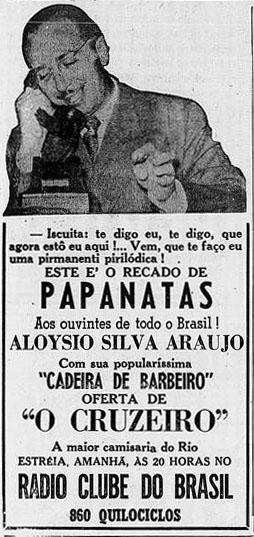 1946 Aloysio cadeira de barbeiro