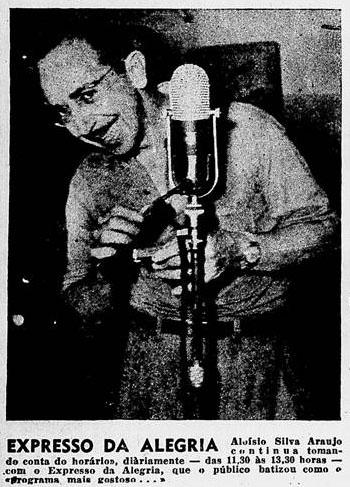 1950 Aloysio expresso da alegria