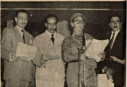1951 Aloysio recruta e atores