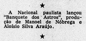 1955 aloysio e nóbrega banquete
