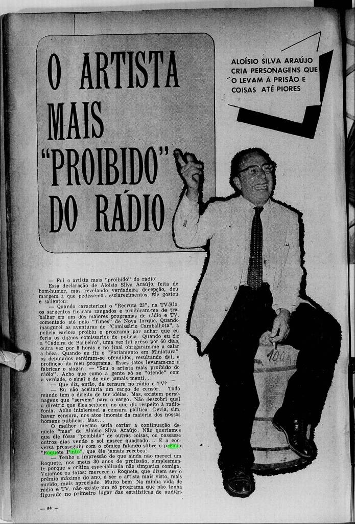 1959 Aloysio Silva Araújo o homem proibido 1