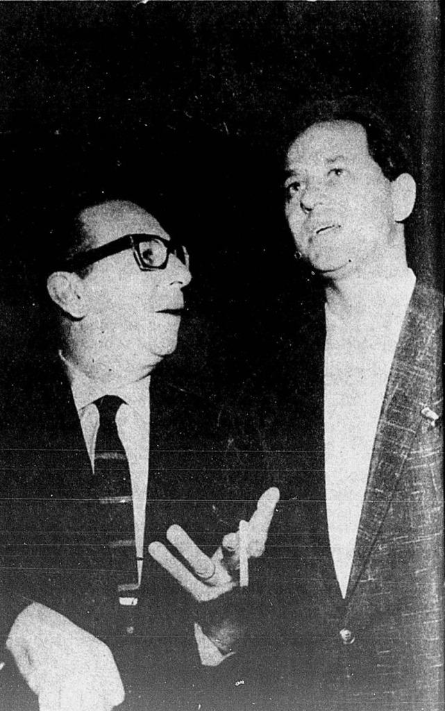 1961 Aloysio e J Silvestre TV Rio o riso é o limite