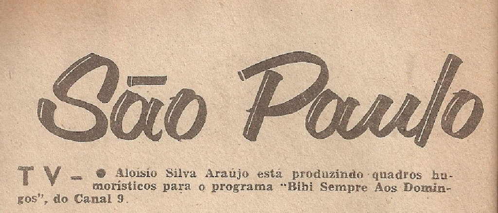 1965 Aloysio com Bibi