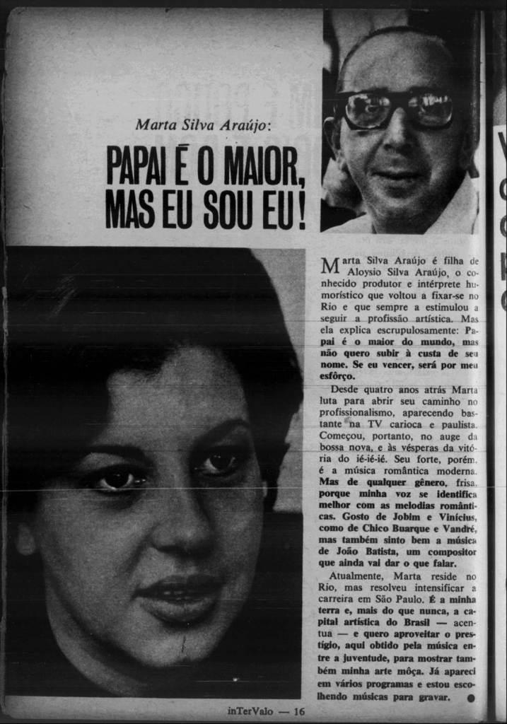 1967 Marta silva araújo aloysio