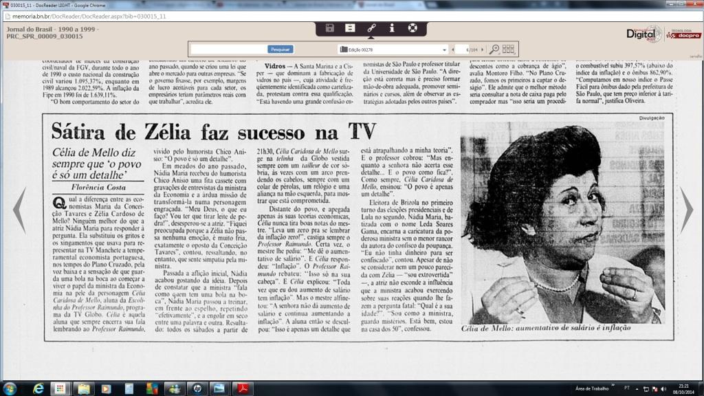 Jornal do Brasil 13/01/1991