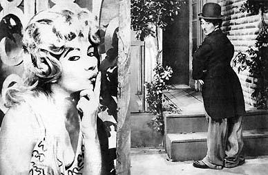 Nádia Maria imita Brigitte Bardot e Carlitos