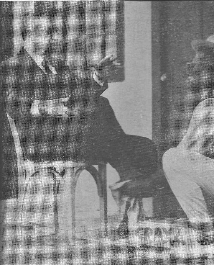 Governador Adhemar de Barros e Walter Stuart - 1962