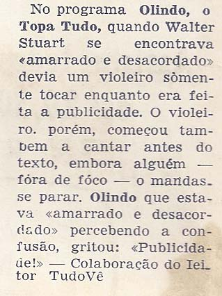 Revista 7 ?Dias na TV1957
