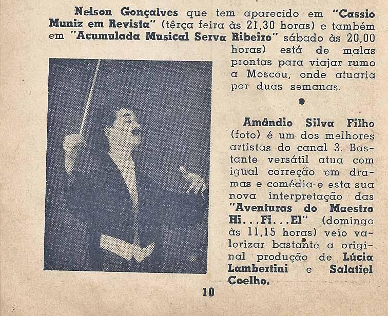 7 Dias Na TV - 1958