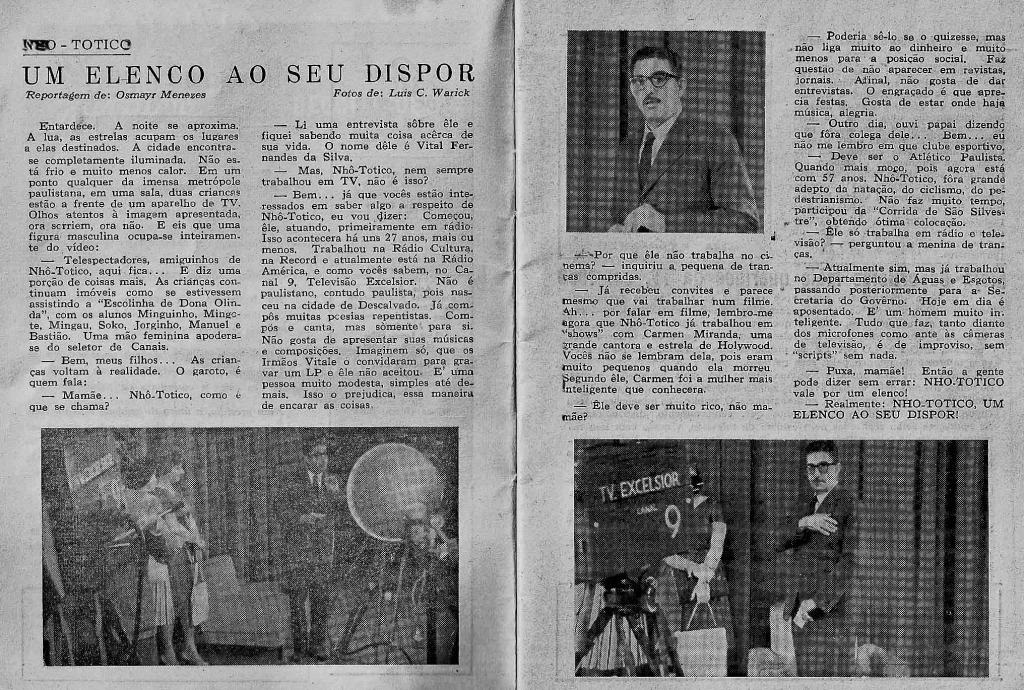 São Paulo na TV - 1960