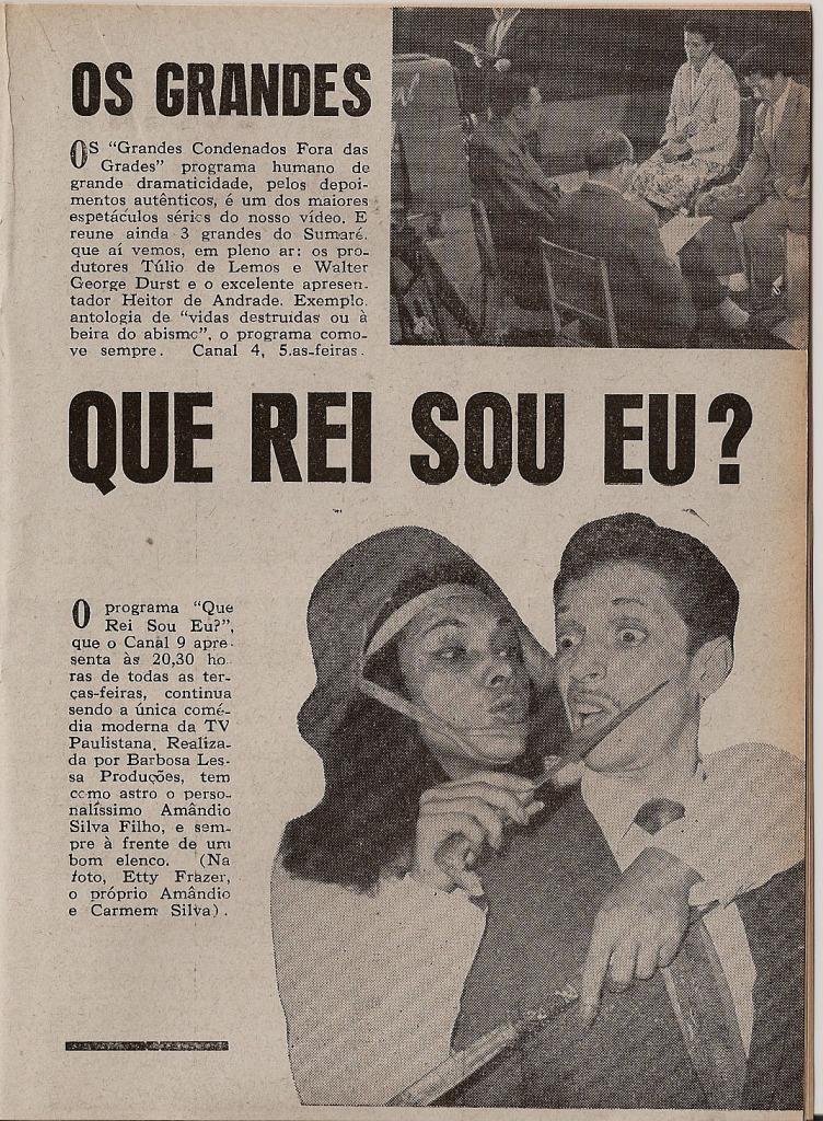 São Paulo na TV 1961