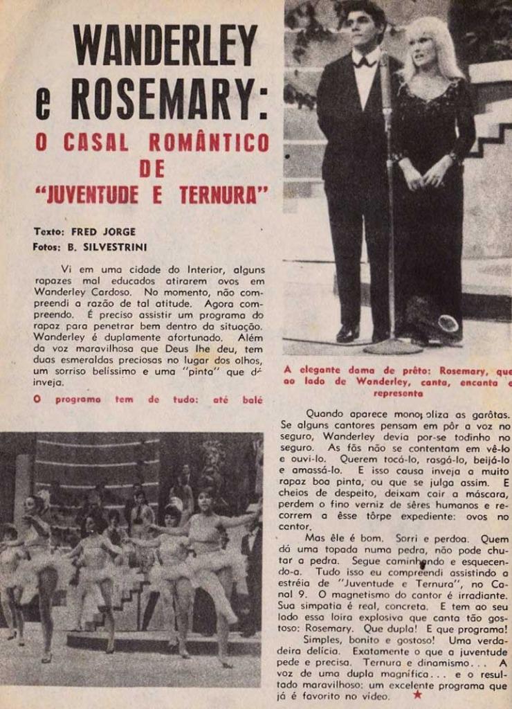 Revista Melodias 1966