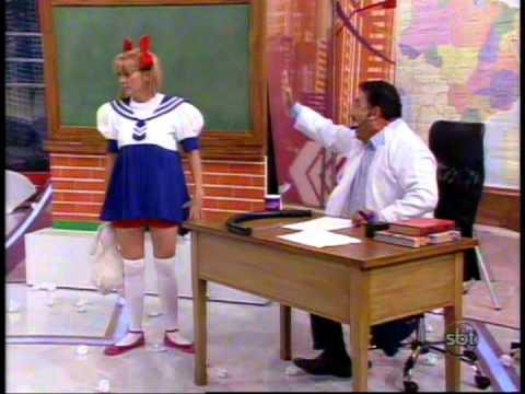 Nina (Marley Cevada) e Ratinho