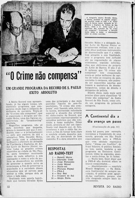 Revista do Rádio - 1949