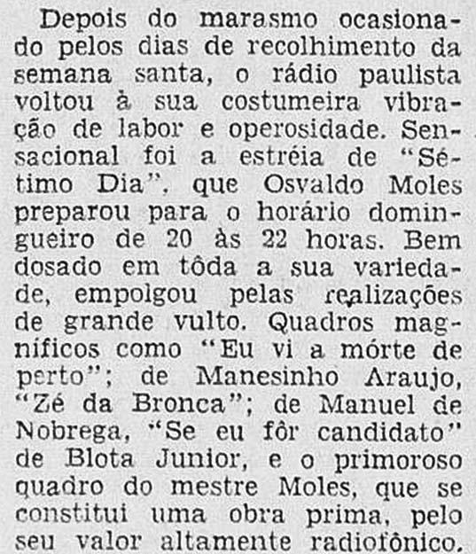 Revista do Rádio - 1950