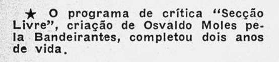 Revista do Rádio 1954