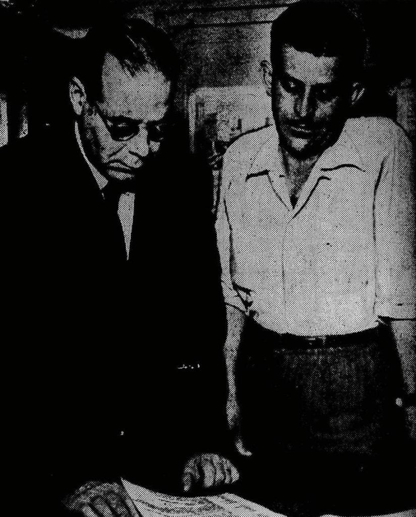 Osvaldo Molles e Irvando Luiz