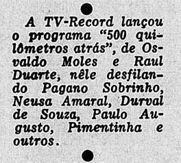 Revista do Rádio 1956