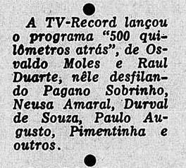 Revista do Rádio 1956