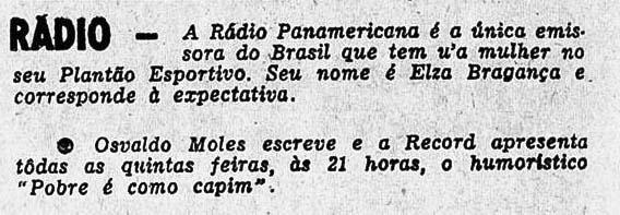 Revista do Rádio 1960