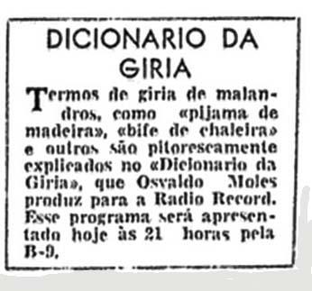 Folha da Manhã 1957