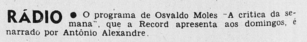 Revista do Rádio 1965