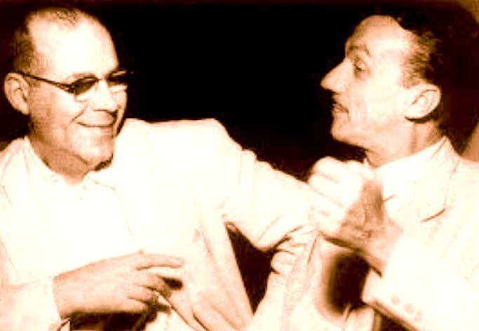 Osval Molles e Adoniran Barbosa