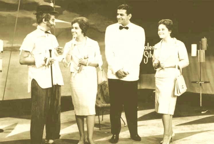 Jorge Loredo, Márcia Kubitscheck,  Ibrahim Sued e Maria Stella Kubitscheck.