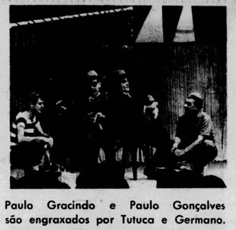 Tutuca,  (à esquerda) como engraxate em Noites Cariocas - 1964