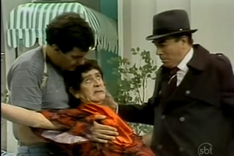 """Felipe Levoto, Tutuca e Aldo César no quadro """"Magnólio"""" - A Praça é Nossa"""