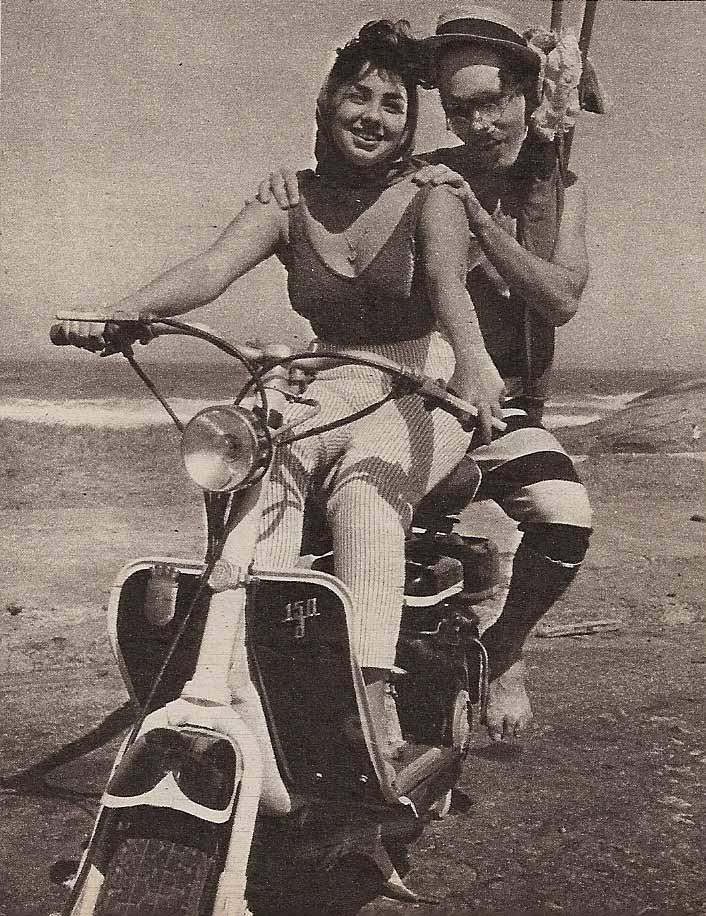 O Professor e Dona Gegé - 1960